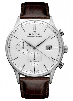 poza ceas Edox Les Vauberts Chronograph Steel 2