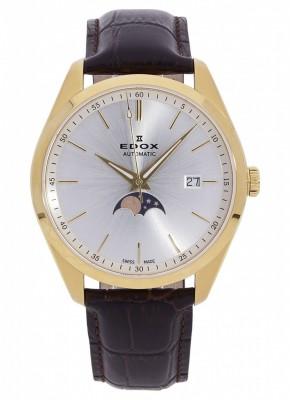 poza Edox Les Vauberts Date Mondphase Automatic 80505 37J AID