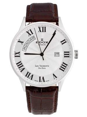 poza ceas Edox Les Vauberts Day Date Automatic