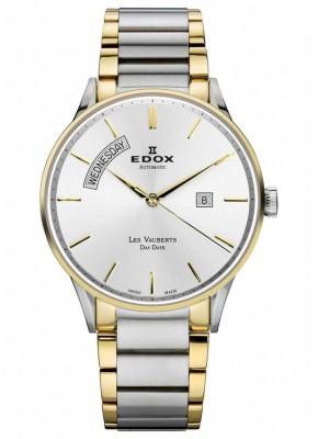 poza ceas Edox Les Vauberts Day Date Automatic 2