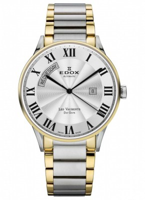 poza ceas Edox Les Vauberts Day Date Automatic 3
