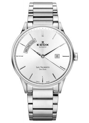 poza Edox Les Vauberts Day Date Automatic 83011 3B AIN