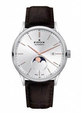 poza Edox Les Vauberts Mondphase Date Automatic 80505 3 AIR