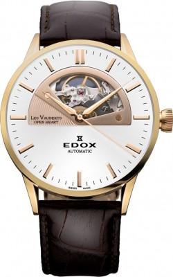 poza ceas Edox Les Vauberts Open Heart Automatic 5