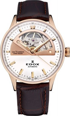 poza Edox Les Vauberts Open Heart Automatic 85019 37RA AIR