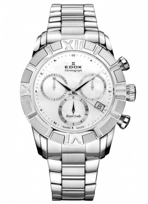 poza ceas Edox Royal Lady Chronolady 2
