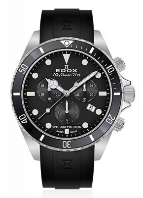 poza Edox SkyDiver 70s Chronograph Date Quarz 10238 3NCA NI