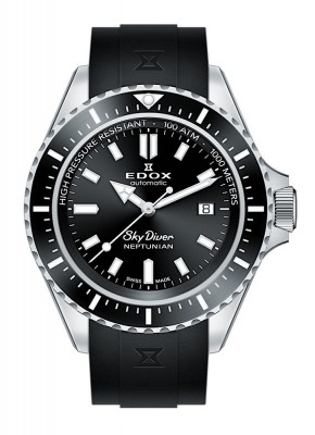 poza Edox SkyDiver Neptunian Date Automatic 80120 3NCA NIN
