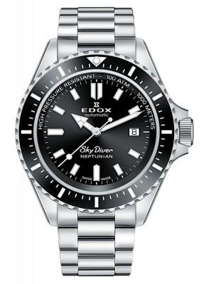 poza Edox SkyDiver Neptunian Date Automatic 80120 3NM NIN