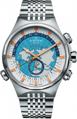 poza ceas Edox The Art of Watchmaking Geoscope Automatic Limited Edition