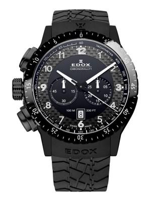 poza ceas Edox WRC Chronograph Black 2