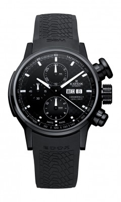 poza ceas Edox WRC Chronorally Black