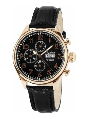 poza ceas Engelhardt Robert Rose Gold Black