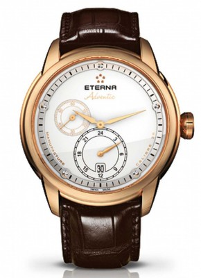 poza Eterna Adventic GMT Automatic 18 kt Gold 7660.69.67.1274