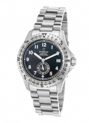poza Eterna Airforce Small Second Date Automatic 8417.41.40.0178