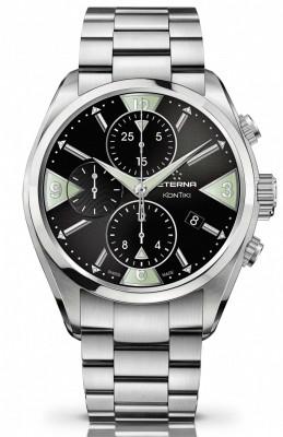 poza ceas Eterna KonTiki Chronograph Automatic 1240.41.43.0219