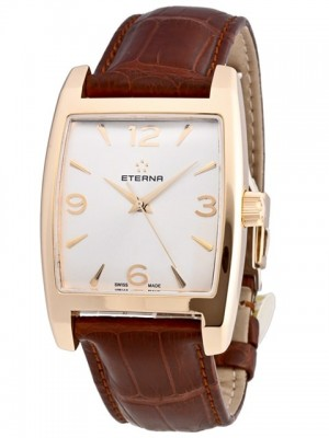 poza ceas Eterna Madison Limited Rose Gold