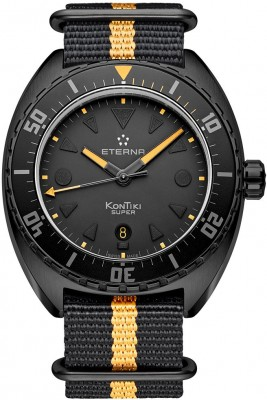 poza Eterna Super KonTiki Black Limited Edition 1273.43.41.1365T