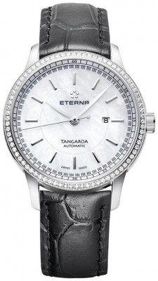 poza ceas Eterna Tangaroa Date Automatic Lady 2947.50.61.1292