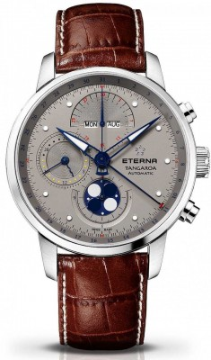 poza ceas Eterna Tangaroa Mondphase Chronograph 2949.41.16.1260