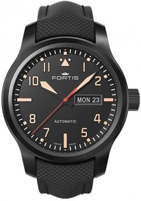 poza ceas Fortis Aviatis Aeromaster Stealth 655.18.18 LP