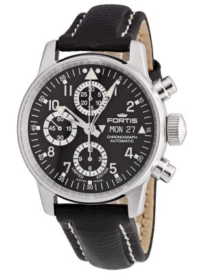 poza Fortis Aviatis Flieger Chronograph Limited Edition Automatic 597.20.71 L.01