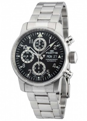 poza Fortis Aviatis Flieger Chronograph Limited Edition Automatic 597.20.71 M