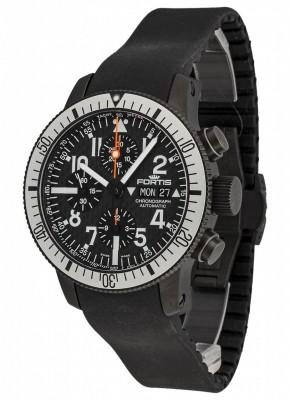 poza Fortis B42 Black Titanium Carbon Dial Chronograph 638.28.61 K