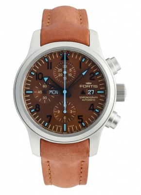 poza Fortis B42 Blue Horizon Chronograph Limited Edition 656.10.95 L.38