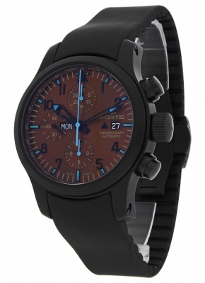 poza Fortis B42 Blue Horizon Chronograph PVD Limited Edition 656.18.95 K
