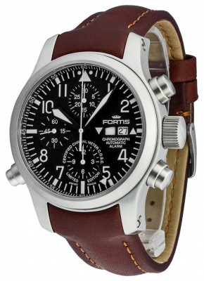 poza Fortis B42 Flieger Alarm Chronograph Limited Edition COSC 657.10.11 L.18