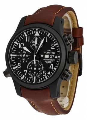 poza Fortis B42 Flieger Alarm Chronograph Limited Edition COSC 657.18.11 L.18