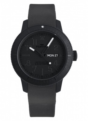 poza Fortis B42 Pitch Black DayDate Limited Edition 647.28.81 K