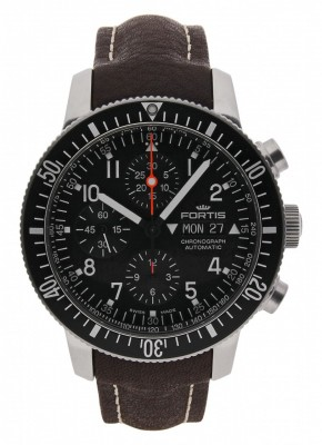 poza Fortis Official Cosmonauts Chronograph 638.10.11 L.16