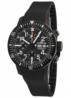 poza Fortis Official Cosmonauts Chronograph 638.28.71 K