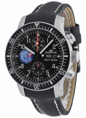 poza ceas Fortis PC7 Team Edition Chronograph Automatic 638.10.91 L.01