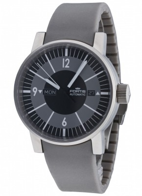 poza Fortis Spacematic Classic DayDate Automatic 623.10.38 SI.10