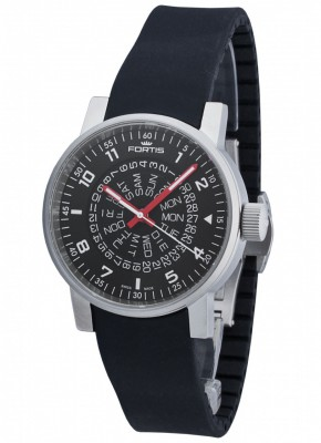 poza Fortis Spacematic Counterrotation Automatic 623.10.51 SI.01
