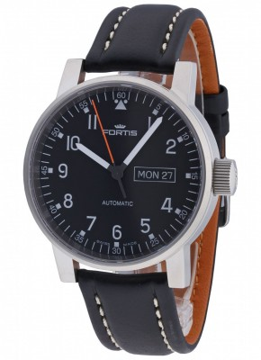 poza Fortis Spacematic Pilot Professional DayDate Automatic 623.10.71 L.01