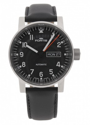 poza Fortis Spacematic Pilot Professional DayDate Automatic 623.10.71 L.10