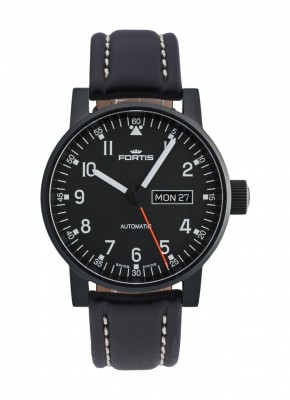 poza ceas Fortis Spacematic Pilot Professional DayDate Automatic 623.18.71 L.01