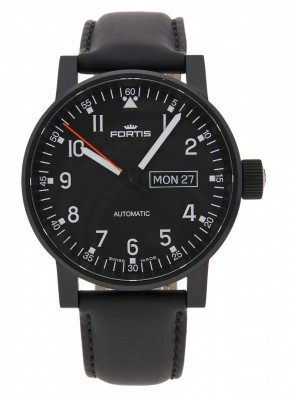 poza ceas Fortis Spacematic Pilot Professional DayDate Automatic 623.18.71 L.10