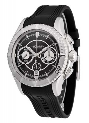 poza Hamilton Jazzmaster Seaview Chronograph Date Automatic H37616331