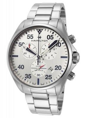poza Hamilton Khaki Aviation Chronograph Date Quarz H76712151