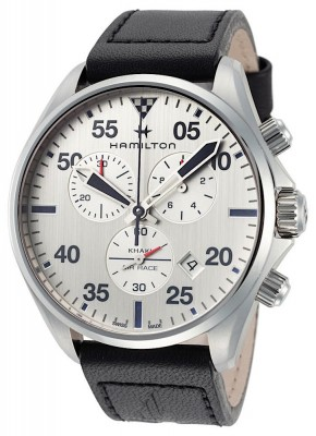 poza Hamilton Khaki Aviation Chronograph Date Quarz H76712751