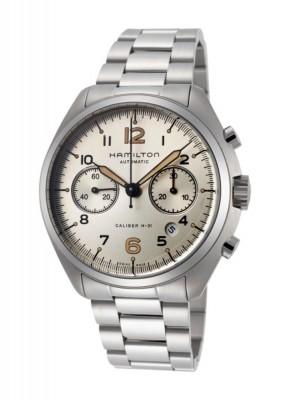 poza Hamilton Khaki Aviation Pilot Pioneer Chronograph Date Automatic H76416155