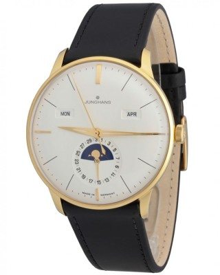 poza ceas Junghans Meister Kalender Gold Silver