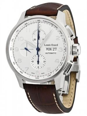 poza Louis Erard 1931 Chronograph Steel 6
