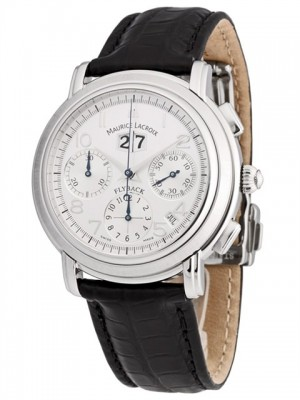 poza ceas Maurice Lacroix Flyback Annuaire Steel 3