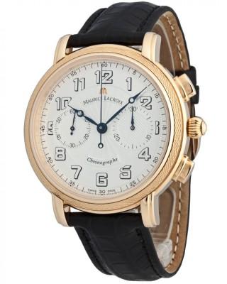 poza ceas Maurice Lacroix Masterpiece Venus Chronograph Gold